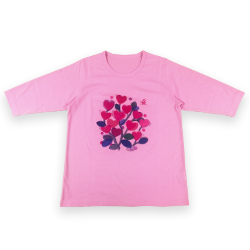 Tシャツ(カットソー)ピンク